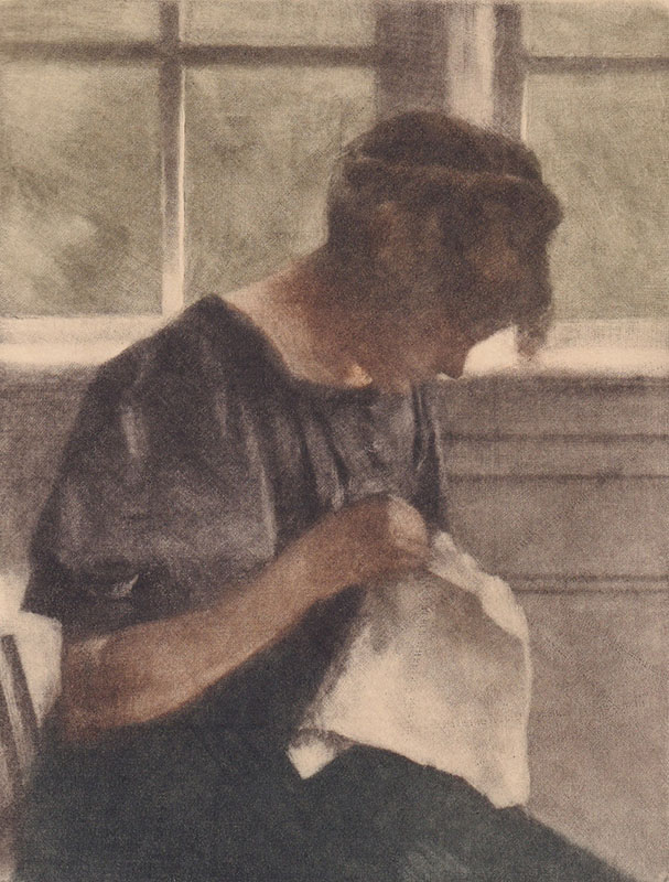 Collection Image: Ilsted Woman Sewing